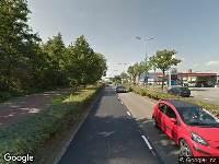 Politie naar Amsterdamseweg in Amersfoort vanwege aanrijding met letsel