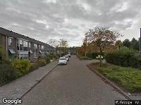 Ambulance naar Da Costastraat in Oosterhout