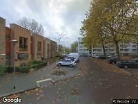 112 melding Traumahelikopter naar Loudonstraat in Dordrecht