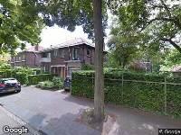 112 melding Brandweer naar Gevaertsweg in Dordrecht