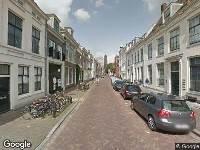 112 melding Brandweer naar Lange Nieuwstraat in Utrecht vanwege verkeersongeval