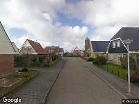 112 melding Ambulance naar Zwaluwenlaan in Wieringerwaard