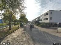 Ambulance naar Lange Hilleweg in Rotterdam