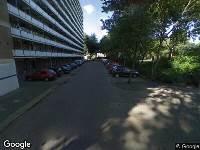 Ambulance naar Bergblauwstraat in Zaandam