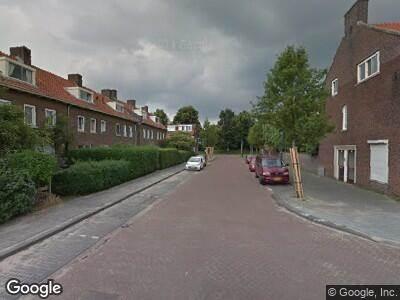 Ambulance naar Pieter Borstraat in 's-Hertogenbosch