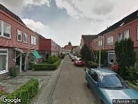 Ambulance naar Adriaan Pieterstraat in Rotterdam