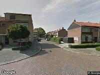 Ambulance naar Van Eedenstraat in Dordrecht