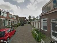 112 melding Brandweer naar Gale Hamkesstraat in Leeuwarden vanwege verkeersongeval