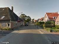 112 melding Ambulance naar Dorpsstraat in Dirkshorn vanwege verkeersongeval