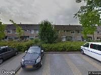 Politie naar Kikkerveen in Spijkenisse