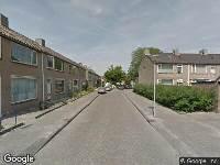 112 melding Ambulance naar Domela Nieuwenhuisstraat in Waalwijk