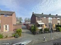 112 melding Brandweer naar Jonkheer Jacob van Veenstraat in Den Helder