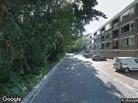 Brandweer naar Kranenburgstraat in Dordrecht vanwege een liftopsluiting