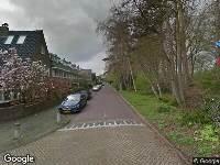Brandweer naar Bos en Vaartlaan in Amstelveen
