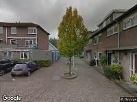 Brandweer naar Fleminghof in Schoonhoven vanwege afhijsen patient