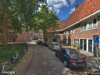 Ambulance naar Coöperatiehof in Amsterdam