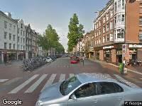 Brandweer naar Eerste Van Swindenstraat in Amsterdam vanwege brand