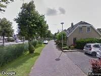 Brandweer naar Couperussingel in Zevenhuizen