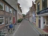 112 melding Brandweer naar Bagijnestraat in Leeuwarden