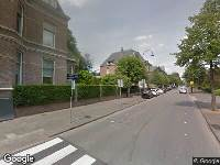 112 melding Ambulance naar Singel in Dordrecht