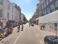 Ambulance naar Pieter Cornelisz. Hooftstraat in Amsterdam