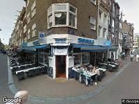 Ambulance naar Leidsekruisstraat in Amsterdam