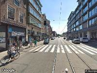 Ambulance naar Kerkstraat in Amsterdam