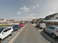112 melding Ambulance naar Dorpsplein in Callantsoog vanwege verkeersongeval