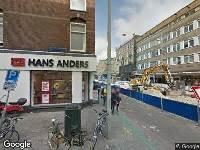 Ambulance naar Eerste Jan van der Heijdenstraat in Amsterdam