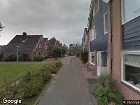 Ambulance naar Ganimedesstraat in Krommenie