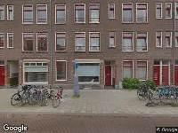 Ambulance naar Lampongstraat in Amsterdam