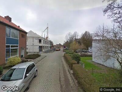 Ambulance naar Marijkeweg in Lekkerkerk
