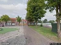 Politie naar Gielis Beijsstraat in Breda vanwege overval