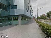Ambulance naar Campusbaan in Nijmegen