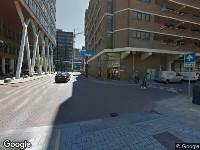 112 melding Ambulance naar Ds. Jan Scharpstraat in Rotterdam