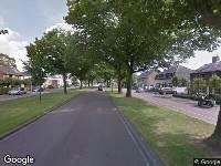 Politie naar Oosterhoutseweg in Teteringen
