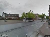 Ambulance naar Stationsplein in Roosendaal