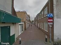 112 melding Brandweer naar Prinsenstraat in Den Helder