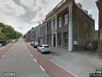 Politie naar Lange Nieuwstraat in Schiedam
