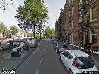 Ambulance naar Bilderdijkkade in Amsterdam