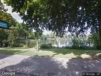 Politie naar Wilhelminapark in Breda vanwege letsel