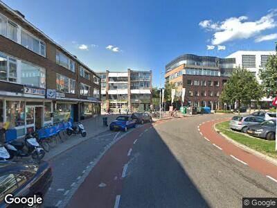 Ambulance naar Van Hogendorpplein in Gouda