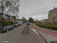 112 melding Brandweer naar Borniastraat in Leeuwarden