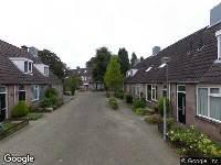 Traumahelikopter naar Amstel in Waalwijk
