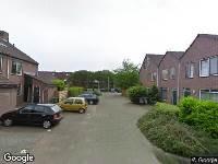 Ambulance naar Jacques Tatistrook in Zoetermeer