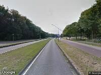Ambulance naar President Allendelaan in Amsterdam