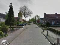 112 melding Ambulance naar Van Wijkstraat in Huissen