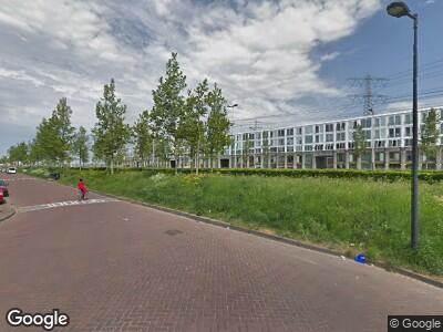 Ambulance naar IJburglaan in Amsterdam