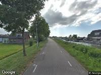 112 melding Brandweer naar Neckerstraat in Wijdewormer