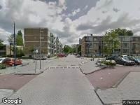Brandweer naar Loeffstraat in Schiedam